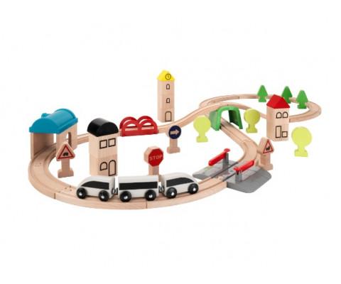 Дерев'яна залізниця